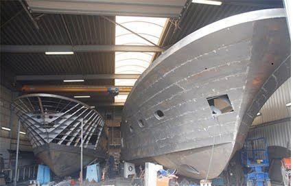 Thép tấm đóng tàu